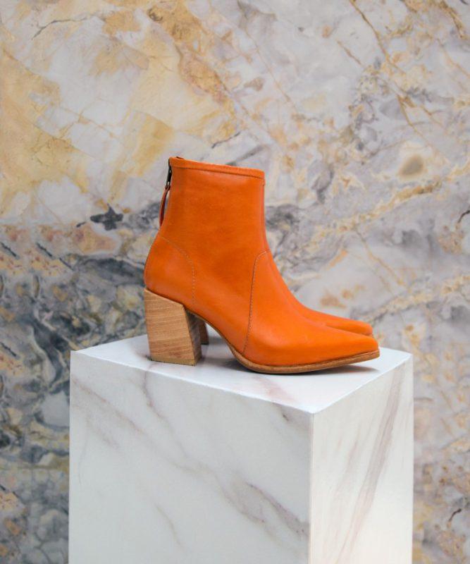 botas naranjas invierno 2020 calzado juvenil Kosiuko