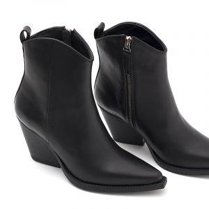 botas negras taco medio invierno 2020 Paruolo