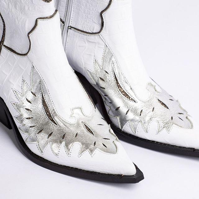 botas texanas blancas invierno 2020 JOW