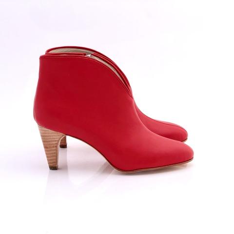 botineta roja invierno 2020 Priscila Bella