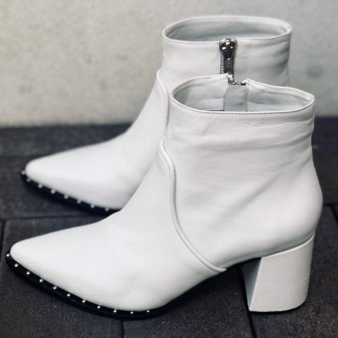 botinetas blancas invierno 2020 Priscila Bella