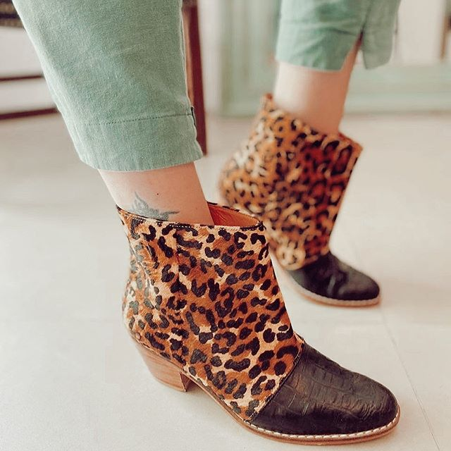 botitas leopardos invierno 2020 Miki and choya