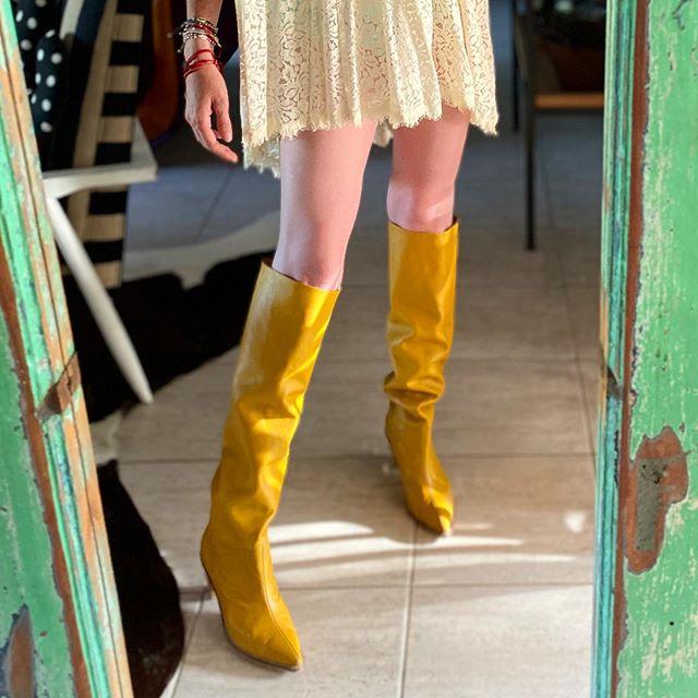bucaneras arrugadas amarillas invierno 2020 Miki and choya