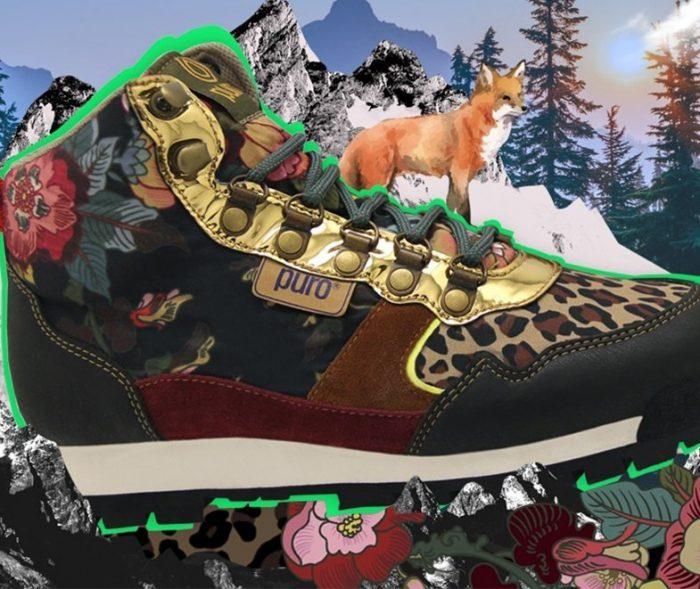 zapatilla botita invierno 2020 Puro calzados