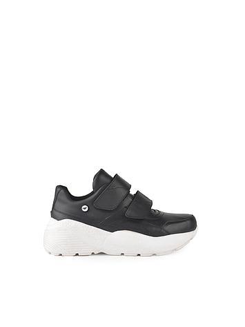 zapatillas negras y blancas invierno 2020 Ferraro Calzados