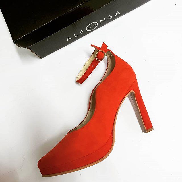 zapatos para fiestas rojos invierno 2020 ALfonsa Bs As