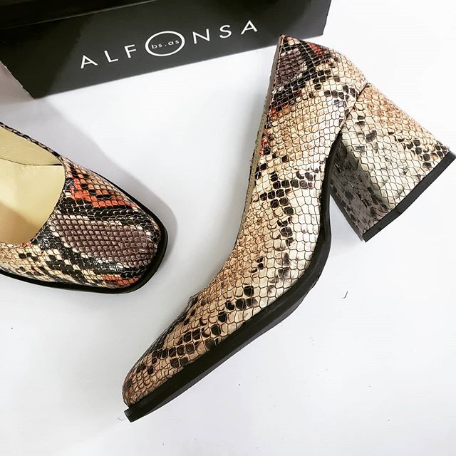 zapatos punta cuadrada invierno 2020 ALfonsa Bs As