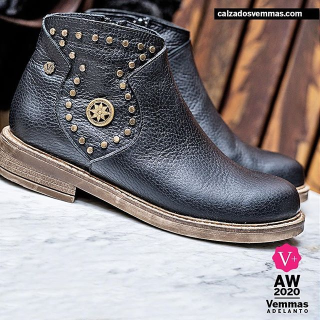 botas negras planas invierno 2020 Calzado Vemmas