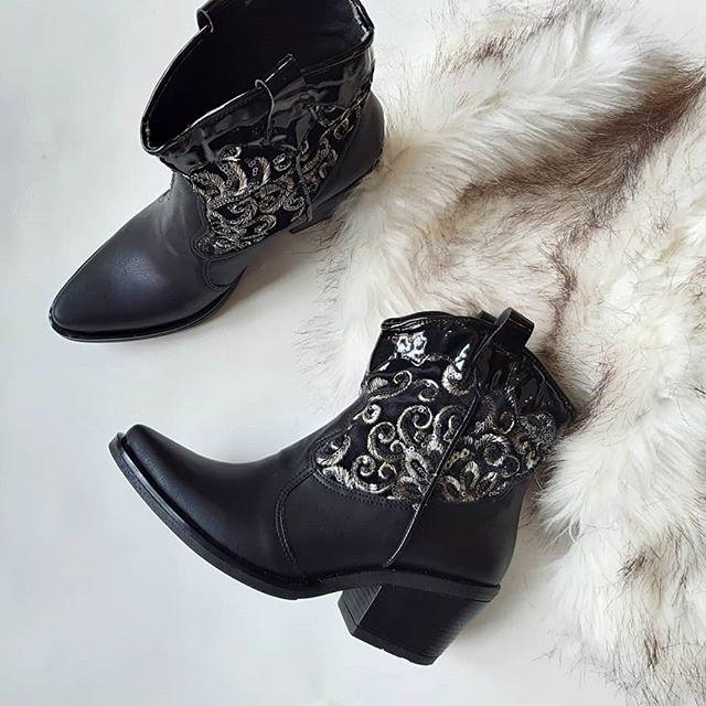 botas negras texanas invierno 2020 Calzados Micaela