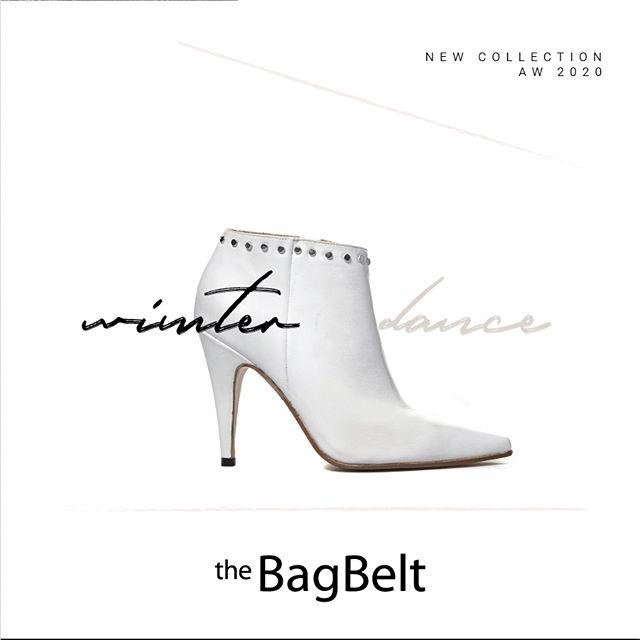 botineta blanca invierno 2020 by The Bag Belt