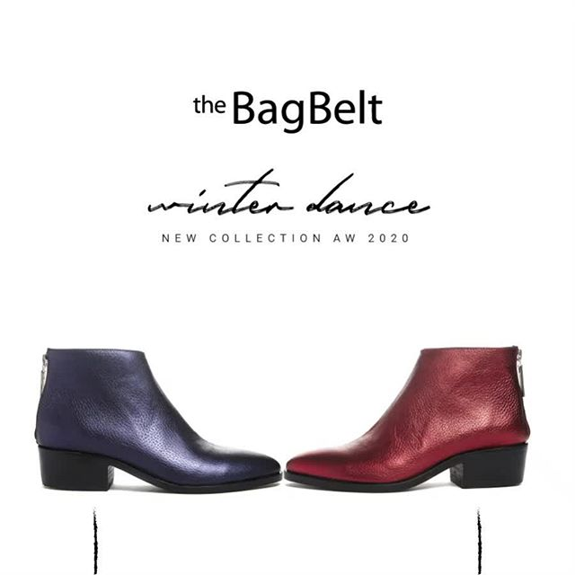 botinetas metalizadas invierno 2020 by The Bag Belt