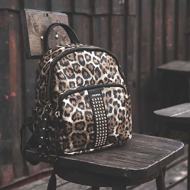 mochila animal print invierno 2020 Tropea