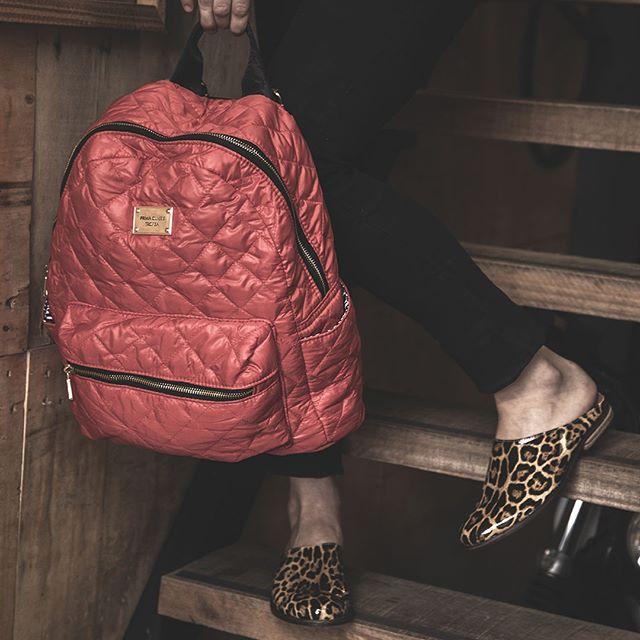 mochila roja invierno 2020 Tropea