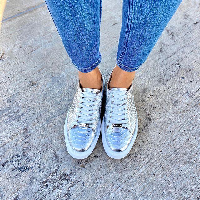 zapatillas plateadas otoño invierno 2020 Pamuk