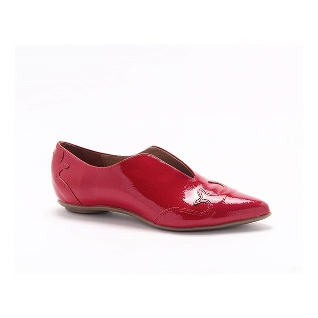zapatitos rojos planos invierno 2020 Lady Comfort