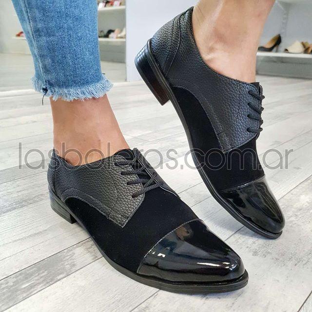 zapato abotinado otoño invierno 2020 Las Boleras