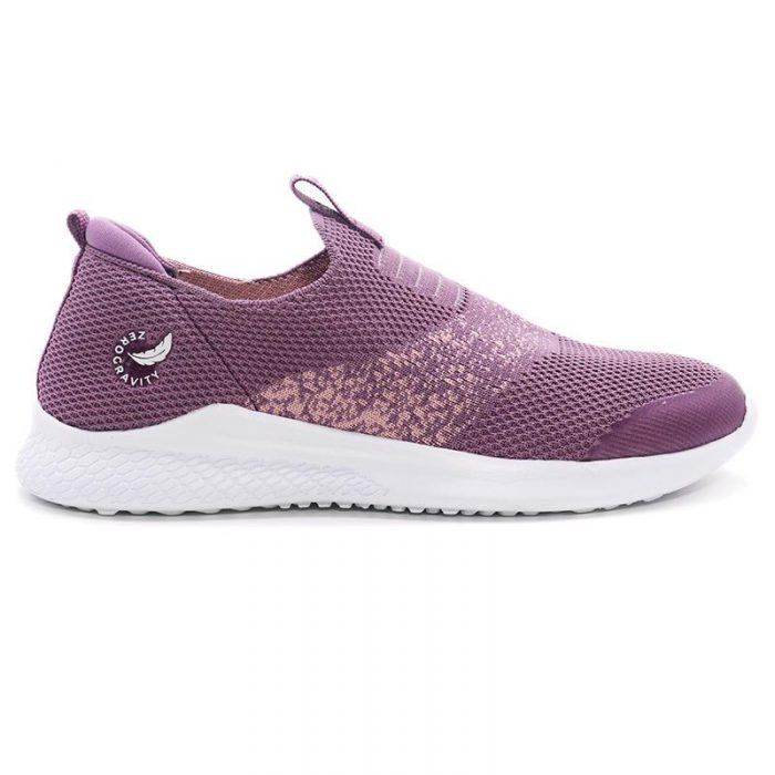zapatillas tejidas purpura Hush Puppies