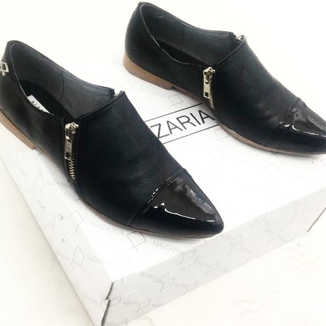 zapatos planos punta fina invierno 2020 Nazaria