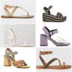 Sandalias de moda verano 2021 - Argentina