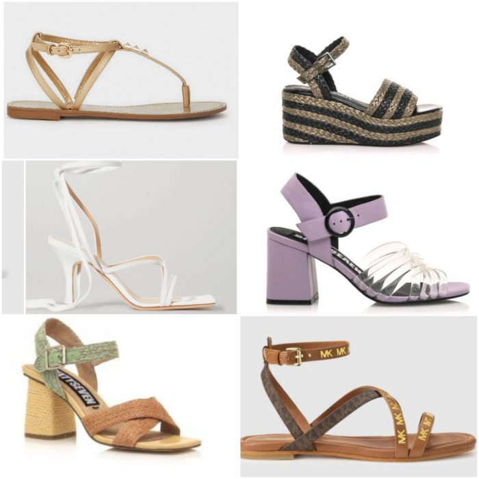 Sandalias de moda verano 2021 Argentina