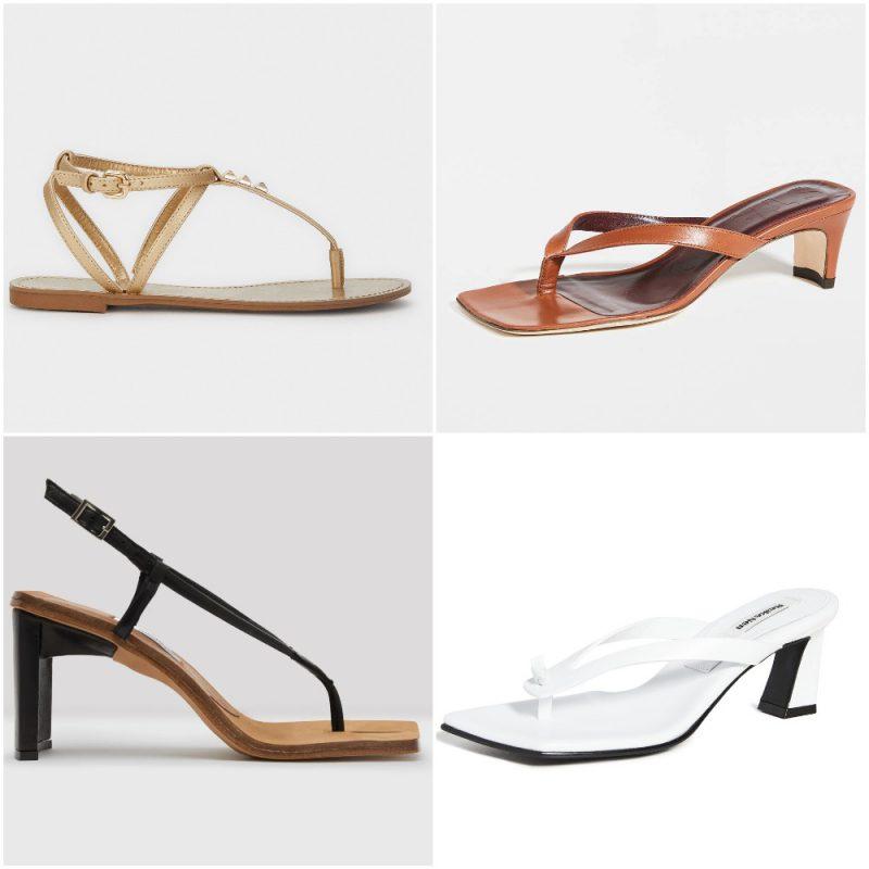 Sandalias tanga u ojota sandalias de moda verano 2021 Argentina