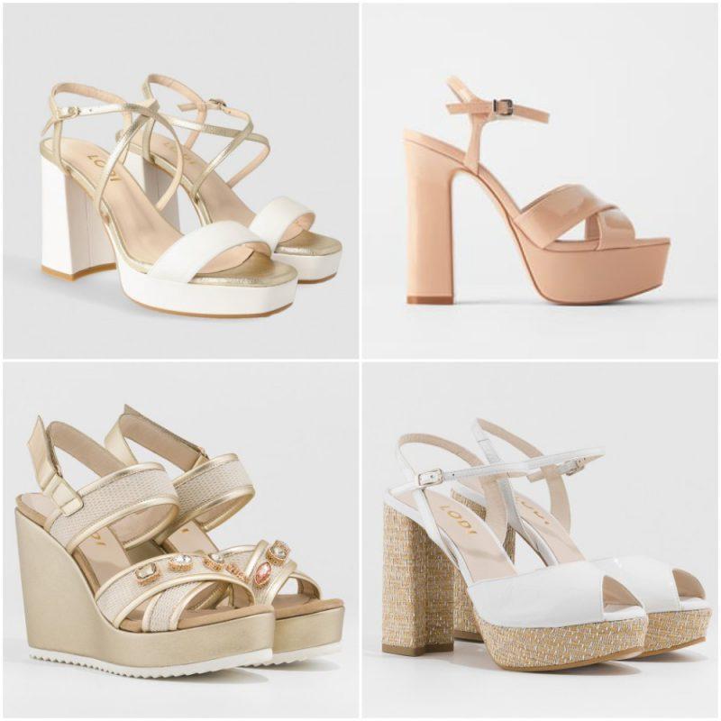 sandalias con plataformas primavera verano 2021 Tendencias de moda en calzados