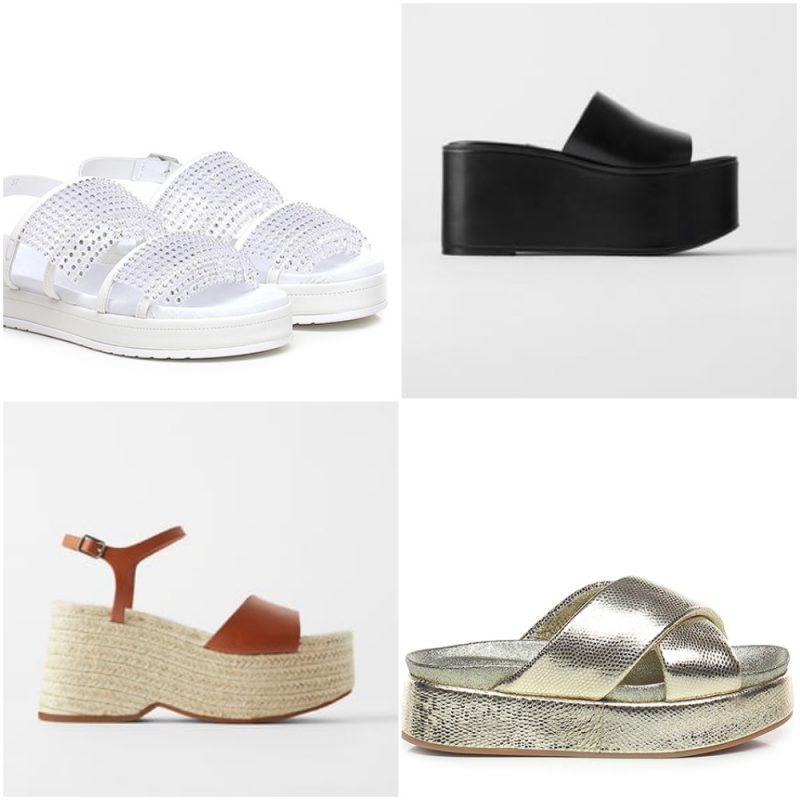 sandalias de base plana altas primavera verano 2021 Tendencias de moda en calzados