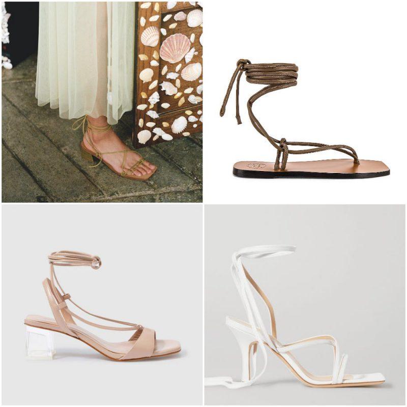 sandalias gladiadoras sandalias de moda verano 2021 Argentina