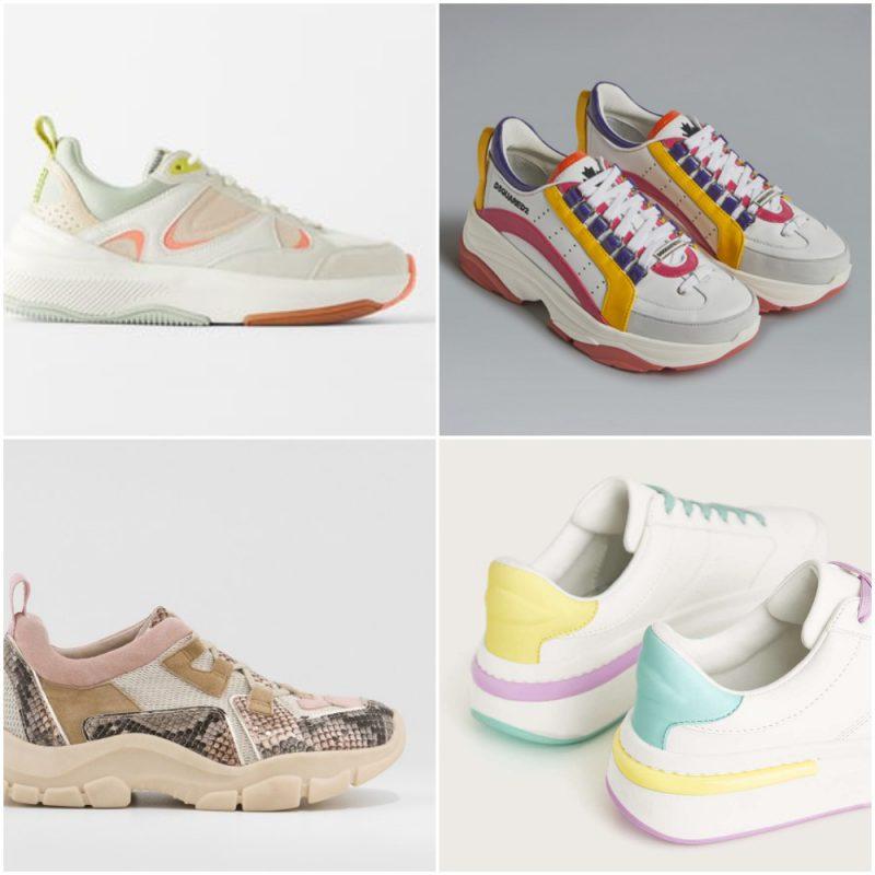 zapatillas mujer primavera verano 2021 Tendencias de moda en calzados 1