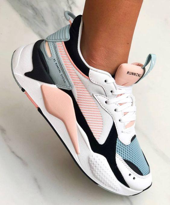 zapatillas urbanas con plataformas estilo deportivo para mujer