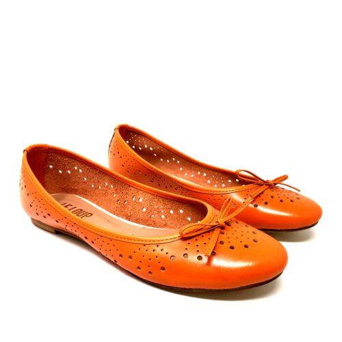 Balerinas naranjas caladas verano 2021 Le Loup