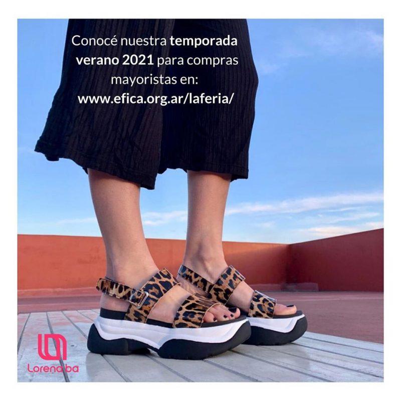Lorena Ba sandalias urbanas juveniles verano 2021