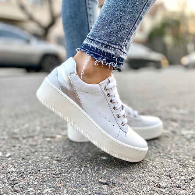Pamuk Zapatillas blancas verano 2021