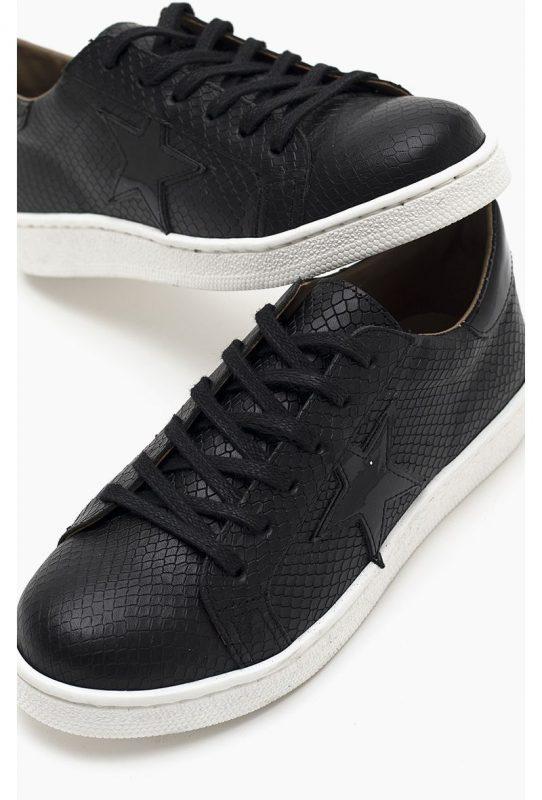 Paruolo zapatillas negras primavera verano 2021 1