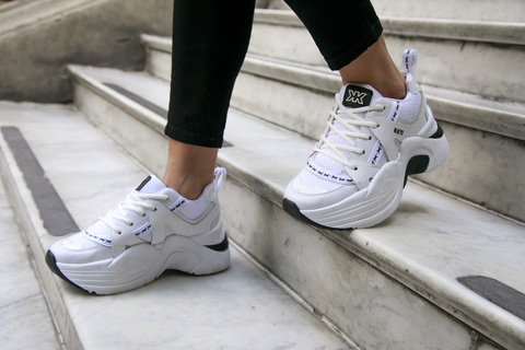 Zapatillas con suela deportiva blanca verano 2021 Kate Kuba
