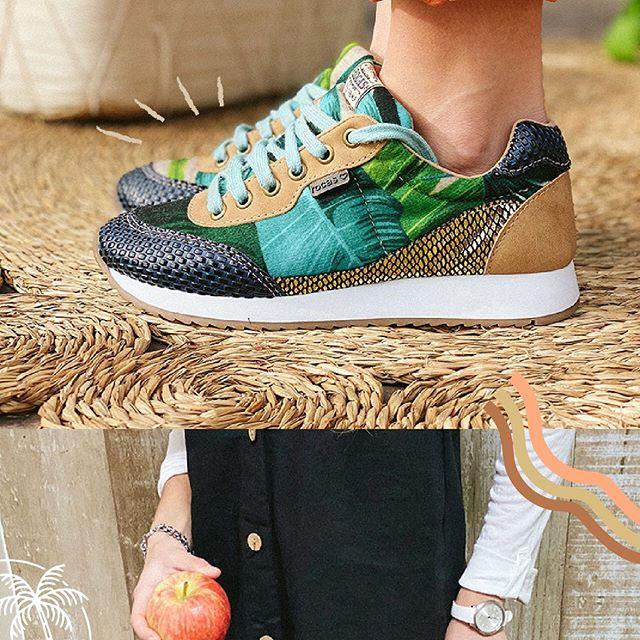 Zapatillas estampadas Rocas Calzado primavera verano 2021