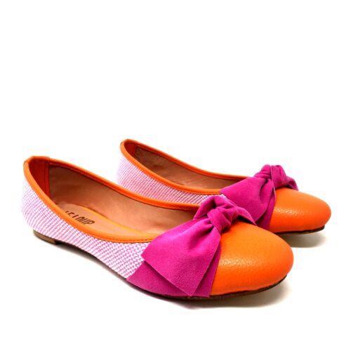 balerina naranja y fucsia verano 2021 Le Loup