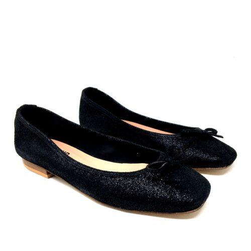 balerina negra con glitter verano 2021 Le Loup