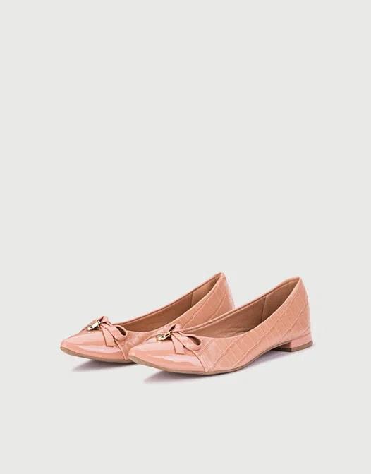 balerinas rosadas primavera verano 2021 Calzados Viamo