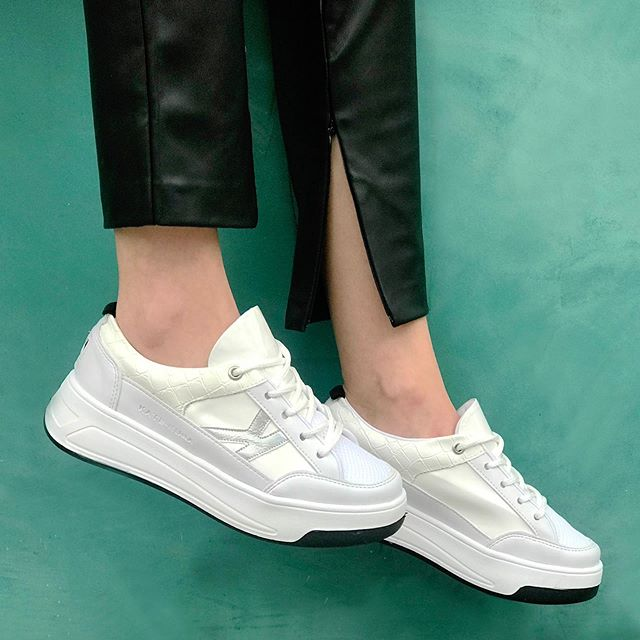 zapatillas blancas para mujer verano 2021 Kate Kuba