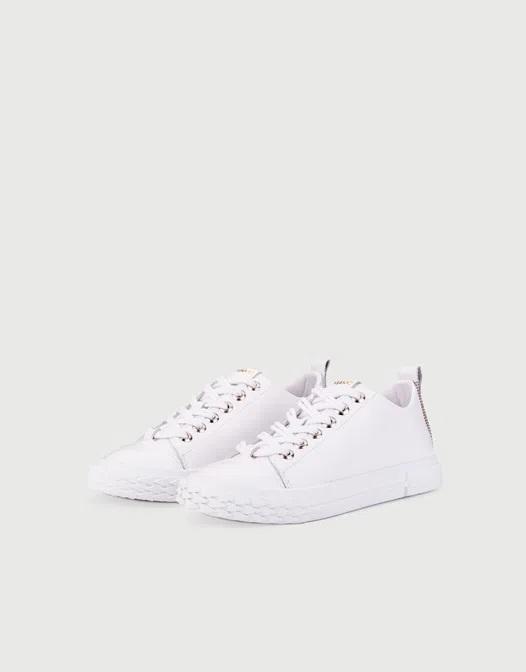 zapatillas de lona blancas para mujer primavera verano 2021 Calzados Viamo