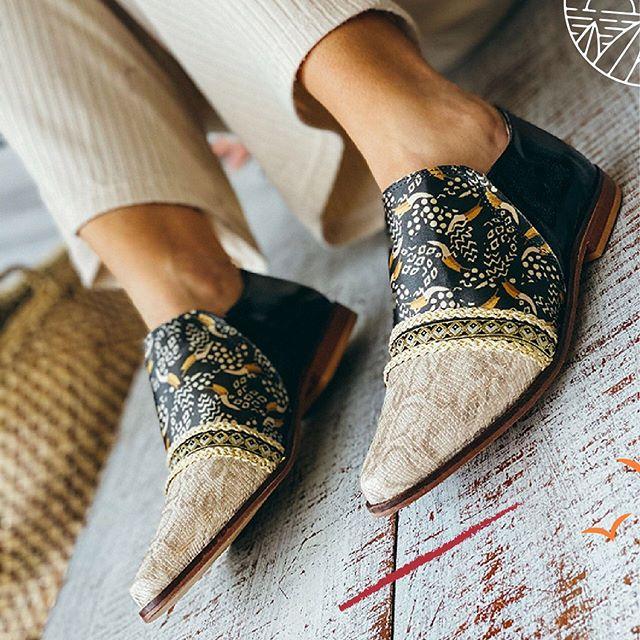 zapatos planos estampados Rocas Calzado primavera verano 2021