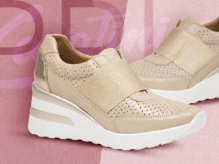 Zapatillas con taco primavera verano 2021