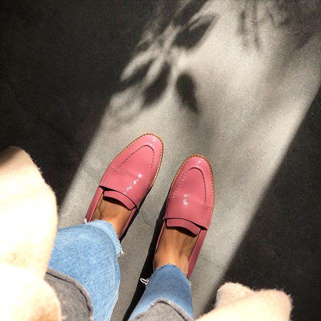 mocasines rosa chicle verano 2021 Gekke Calzados