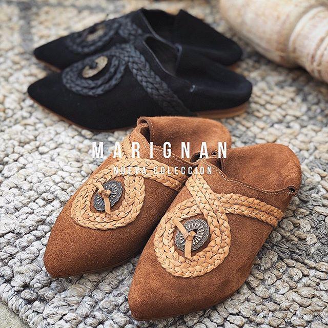 mules de cuero verano 2021 Marignan Shoes