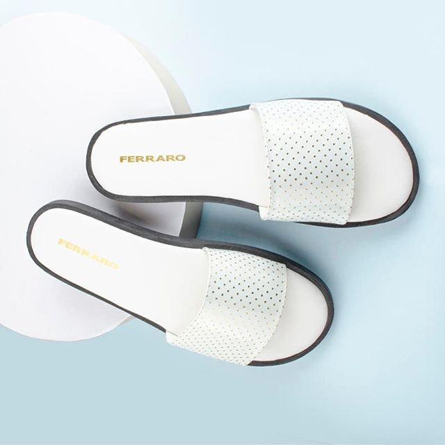 sandalia chatitas blancas primavera verano 2021 Ferraro Calzados