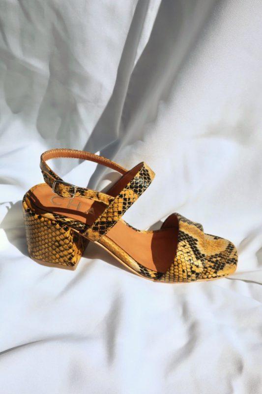 sandalia reptil verano 2021 Chao shoes