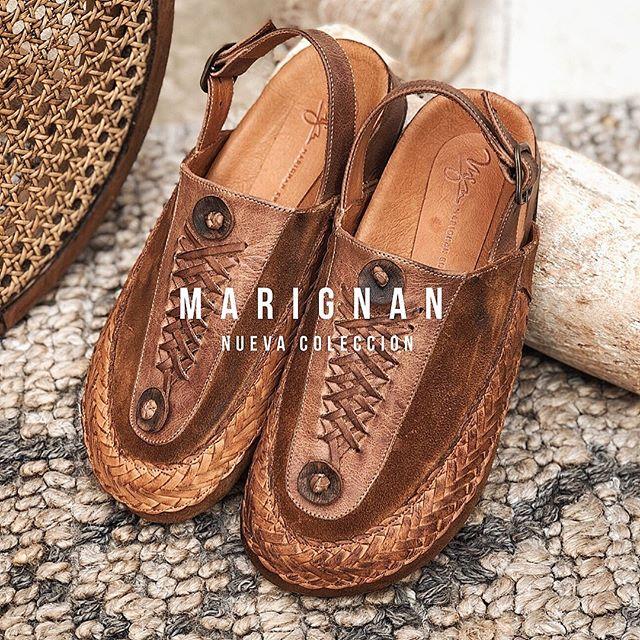 sandalias de cuero planas verano 2021 Marignan Shoes