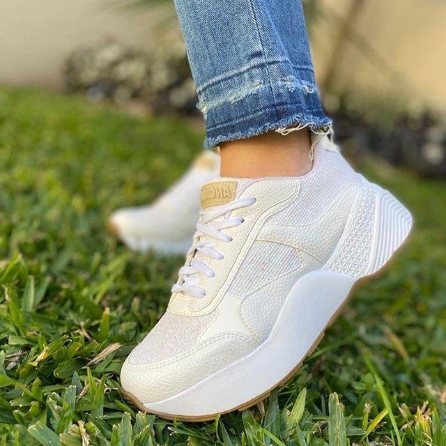 zapatilla blanca verano 2021 Anca co