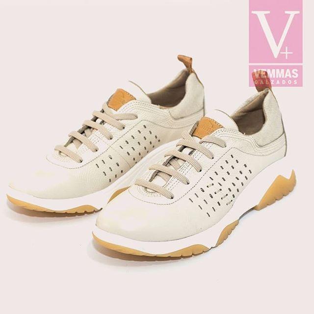 zapatillas blancas primavera verano 2021 Calzados Vemmas